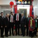 October 2014, Mayorial Candidate Bill de Blasio visited CCBA.
